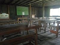 二階の教室。