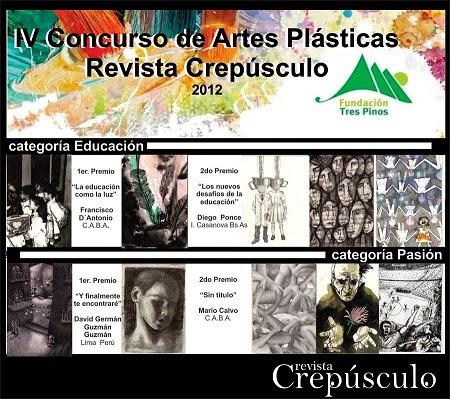 2 DO PREMIO DEL IV CONCURSO ANUAL DE ARTES PLÀSTICAS CREPÙSCULO