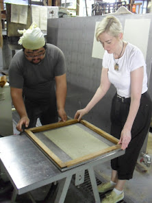Making Washi in Matsudai, Japan