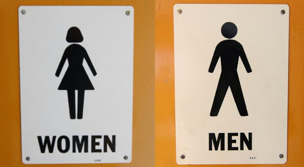 Bathroom Sign Man And Woman men and women bathroom signs | modelismo-hld