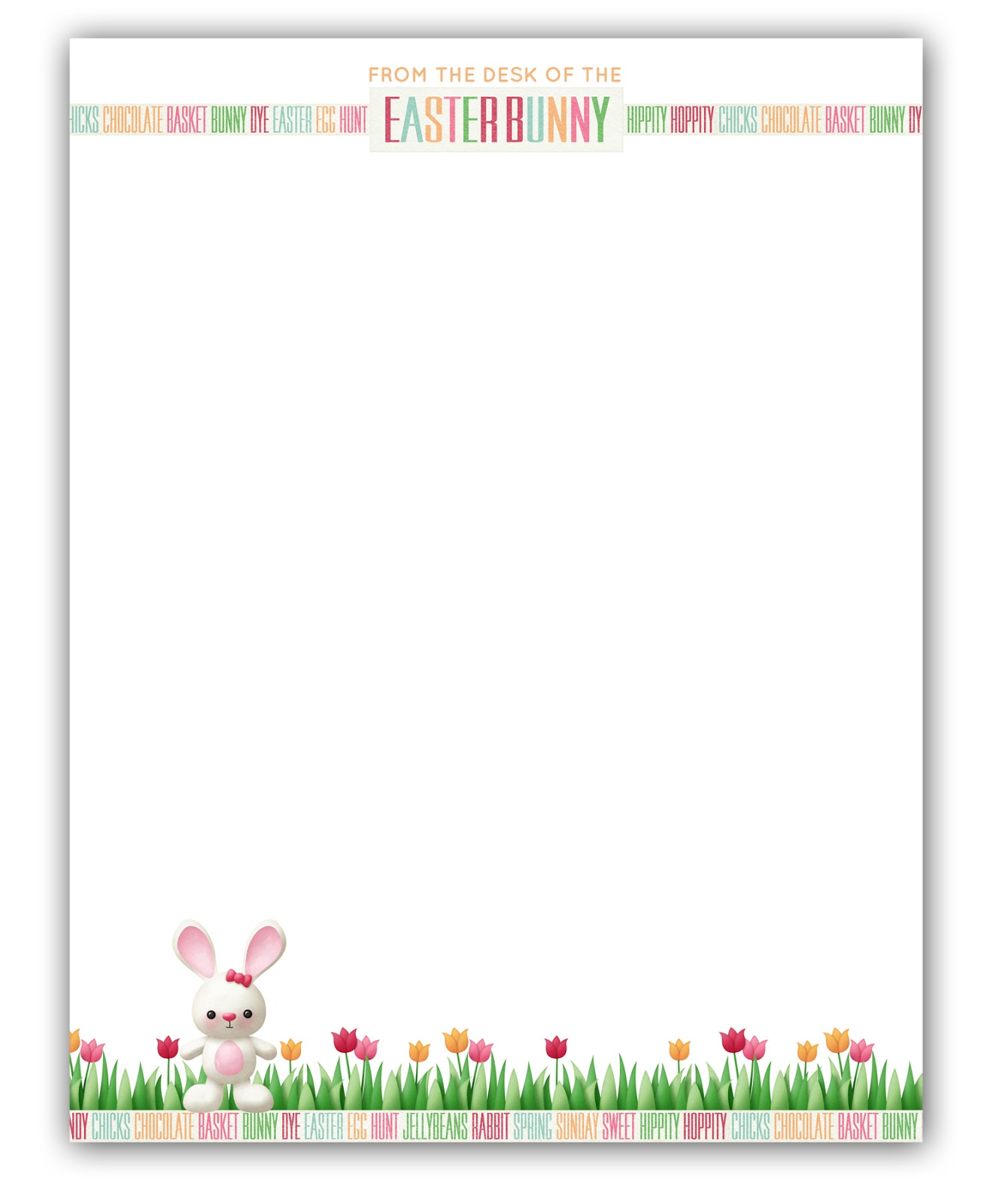 m k designs blog easter bunny notes free printable