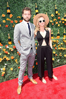 Diane Kruger is sultry in a cut-out jumpsuit at the 2015 Veuve Clicquot Polo Classic