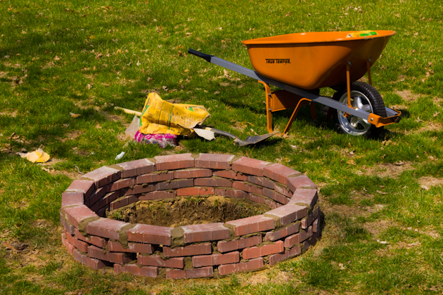 Mortar Fire Pit : The cantor mindset building a fire pit