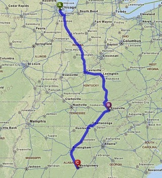 Road Trip USA Day 24 Chicago IL to Knoxville TN The Passport