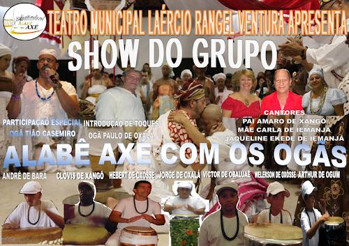 SHOW DO GRUPO ALABÊ AXÉ EM NOVA FRIBURGO- RJ