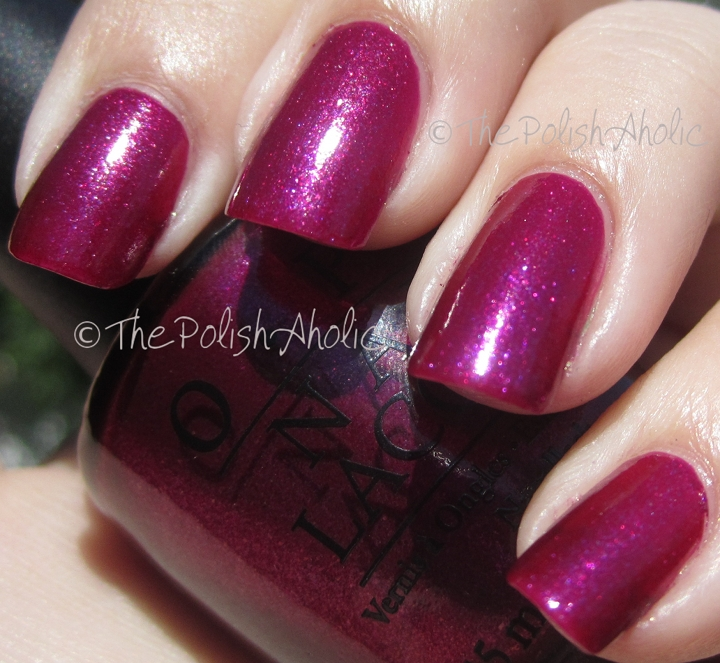 The PolishAholic: OPI Miss Universe Collection Swatches!