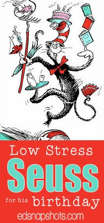 Low-stress Dr. Seuss birthday activities | Everyday Snapshots