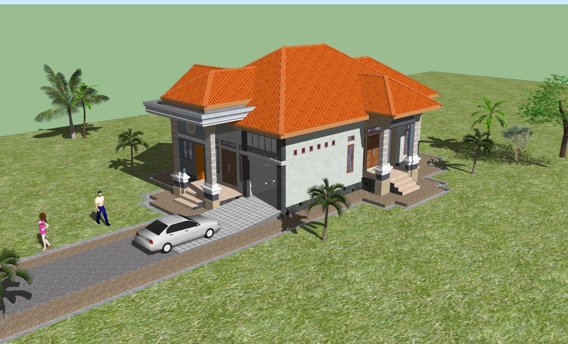 gambar rencana rumah h nia jampu desa sijelling bone