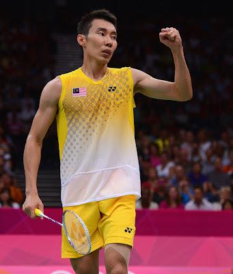 Datuk Lee Chong Wei Menang Ke Atas Chen Long Separuh Akhir Badminton Olimpik London 2012