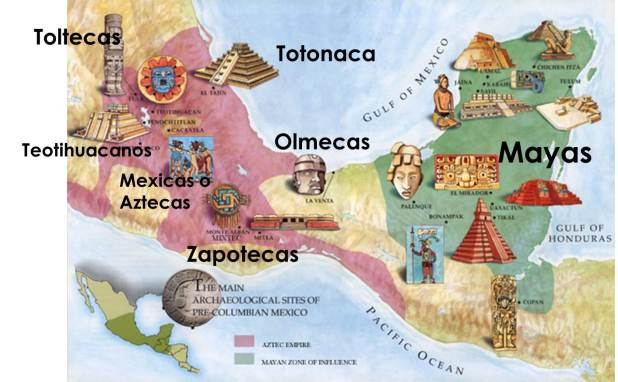 mapa de la cultura olmeca atlantida