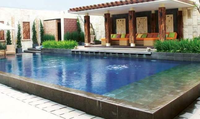 model kolam renang minimalis
