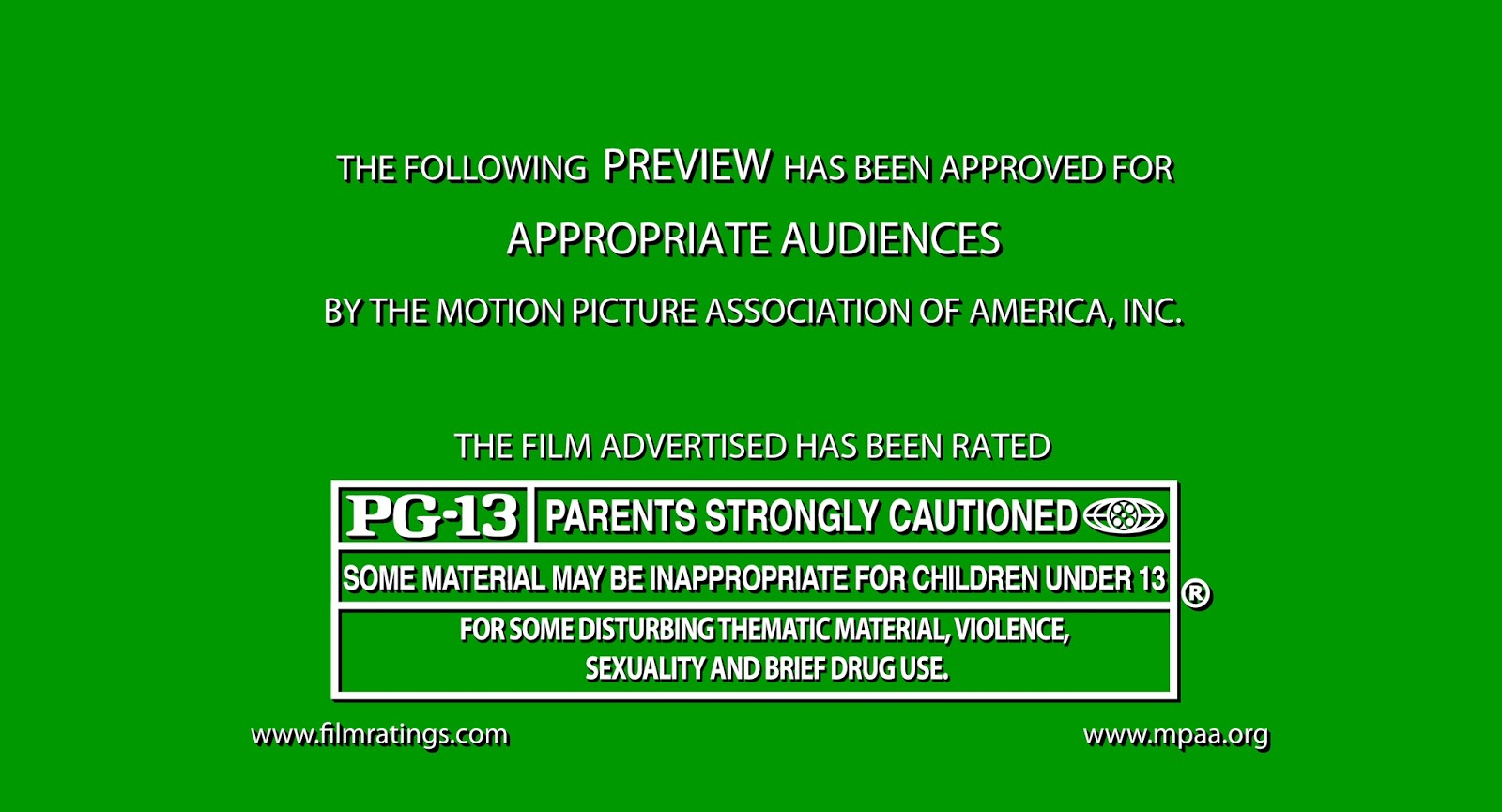 What is movie pg 13