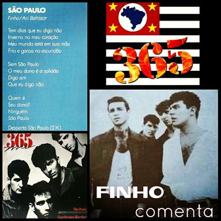 """""""São Paulo"""" - a faixa da banda 365"""