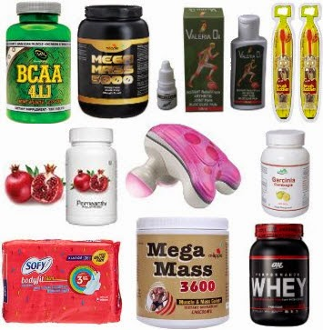 Amazon : Buy Health Products upto 99% off from Rs. 30 only