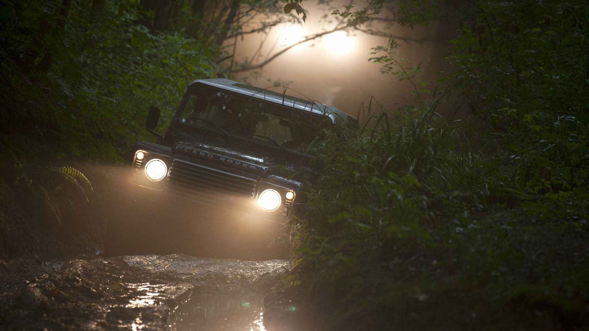 wallpaper: land rover defender off road wallpapers