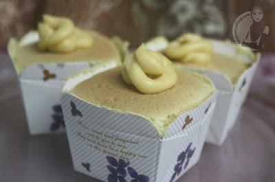 Hokkaido chiffon cupcakes