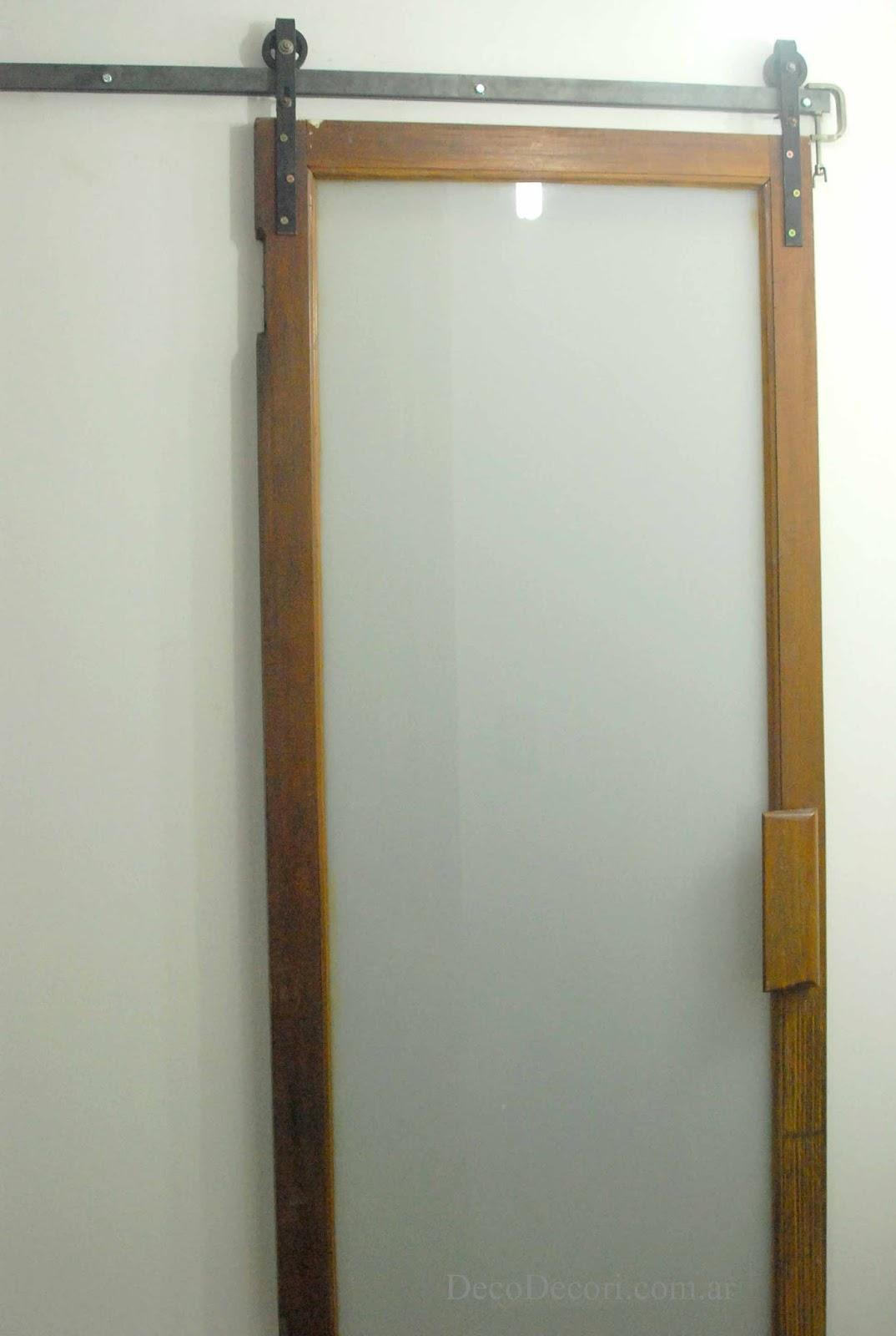 Puerta corrediza for Sistema para puertas corredizas