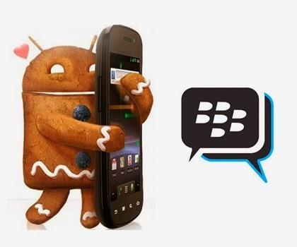 Cara Install BBM untuk Android Gingerbread