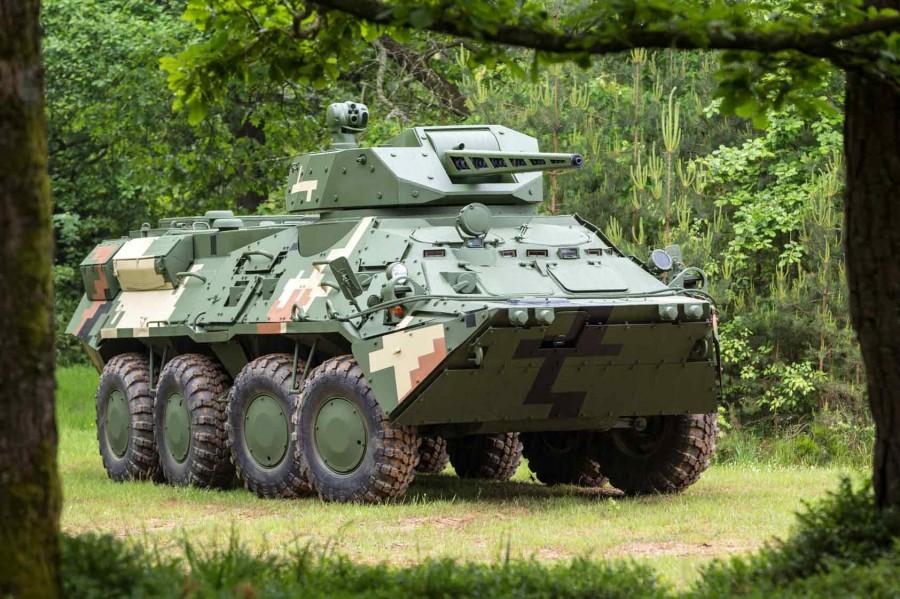 БТР-3Е з модулем CPWS-30 бельгійської компанії CMI Defense