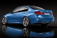 BMW M3 Saloon (2014) Rear Side