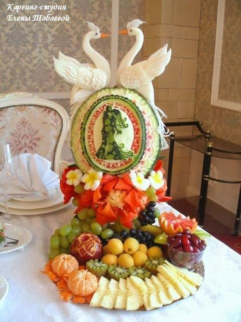 украшение стола фруктами южно-сахалинск