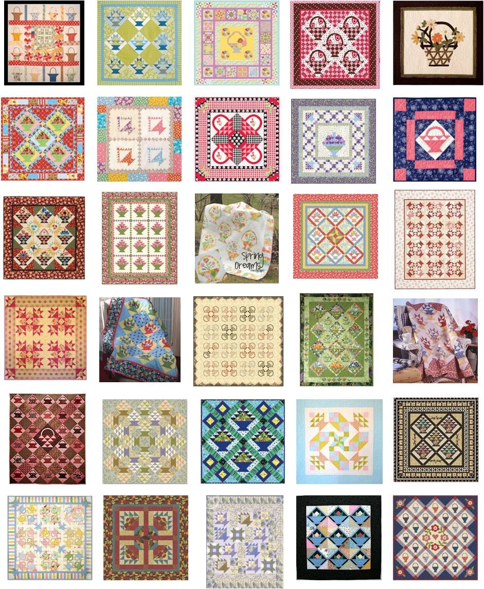 Quilting Designs Free : Quilt Inspiration: Free pattern day: Basket Quilts