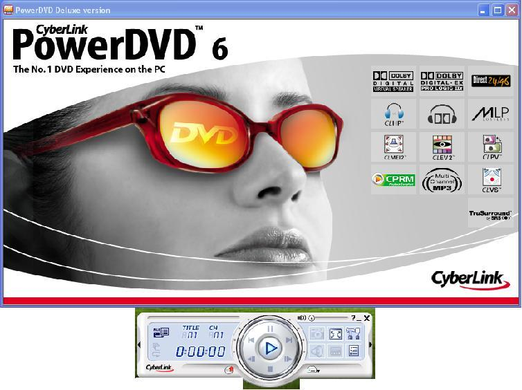 power dvd player 6 free  full version