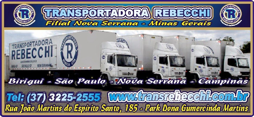 Transportadora Rebecchi Filial Nova Serrana