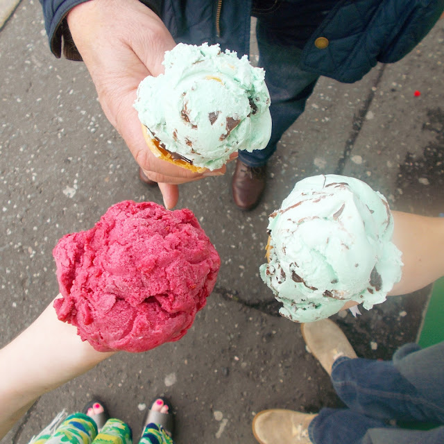 Weekly Reflect #51 // Mint choc chip icecream & raspberry sorbet!