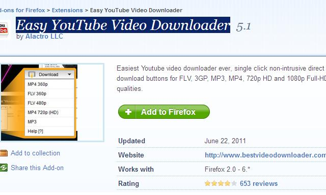 How to Enable YouTube Video downloading option in Firefox Browser