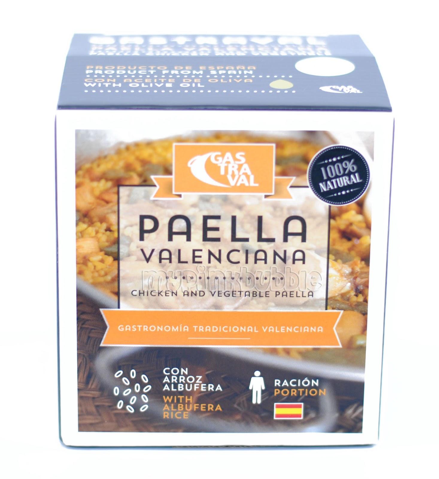 Gastraval paella valenciana