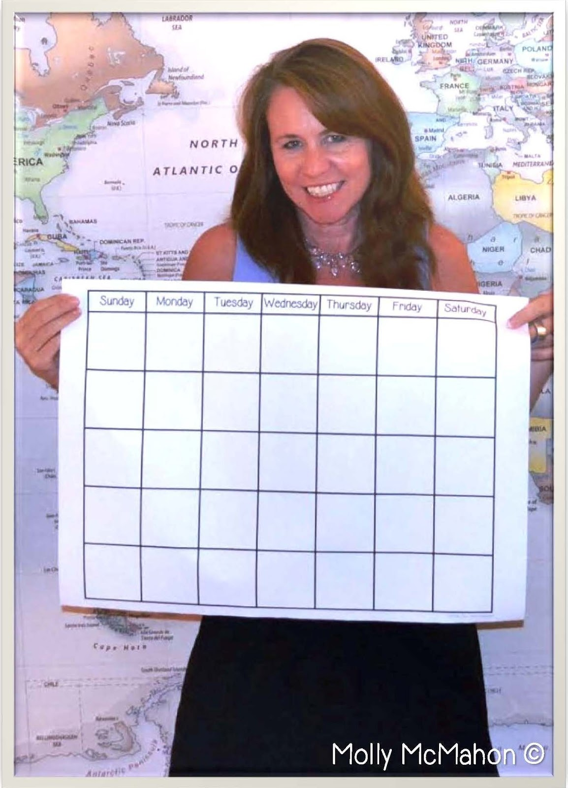 Design Your Calendar : Lessons by molly using technology to create a classroom