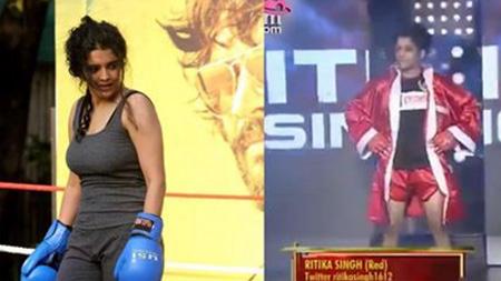 Irudhi Suttru Heroine Ritika Singh Real Boxing Match