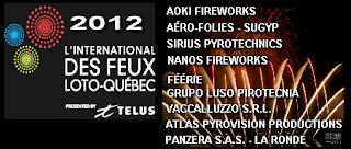 El Internacional de Fuegos Artificiales Loto - Quebec 2012