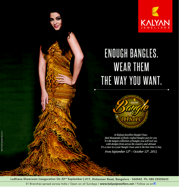 Latest Kalyan Jewellers Bangle Utsav ad featuring Aishwarya Rai Bachchan