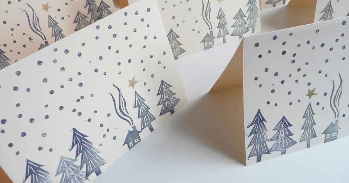 Mini matriarchin gestempelte weihnachtskarten - Weihnachtskarten unicef ...