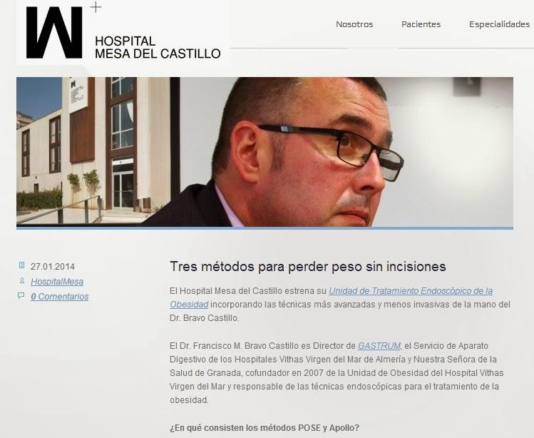 Método Apollo y Método POSE para tratar obesidad en Murcia