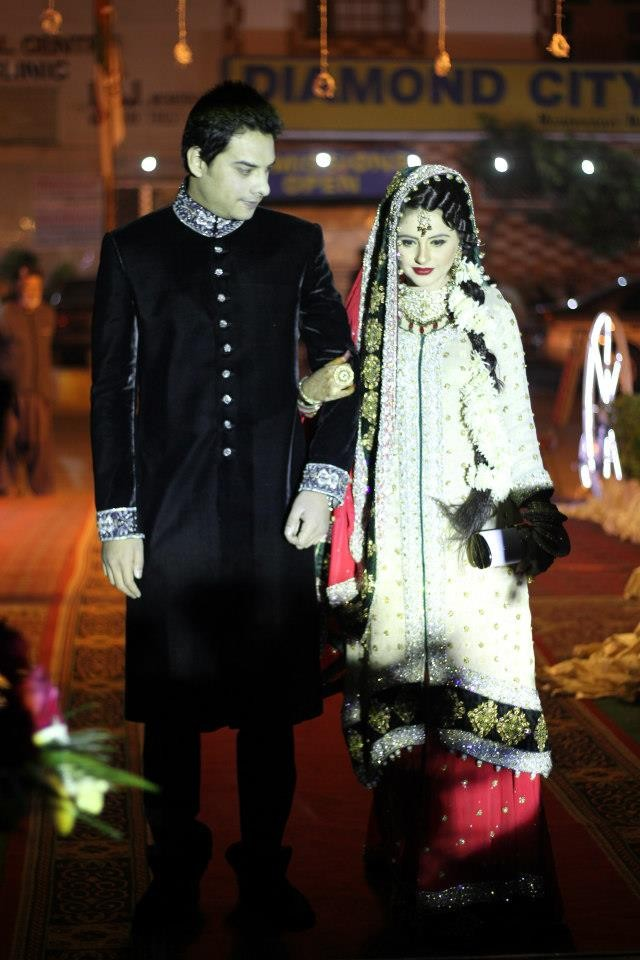 * Fatima Effendi and Aanwar Arsalan wedding * ~ Dulha & Dulhan