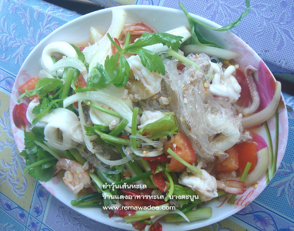 ร้านแดงอาหารทะเลบางตะบูน จ.เพชรบุรี