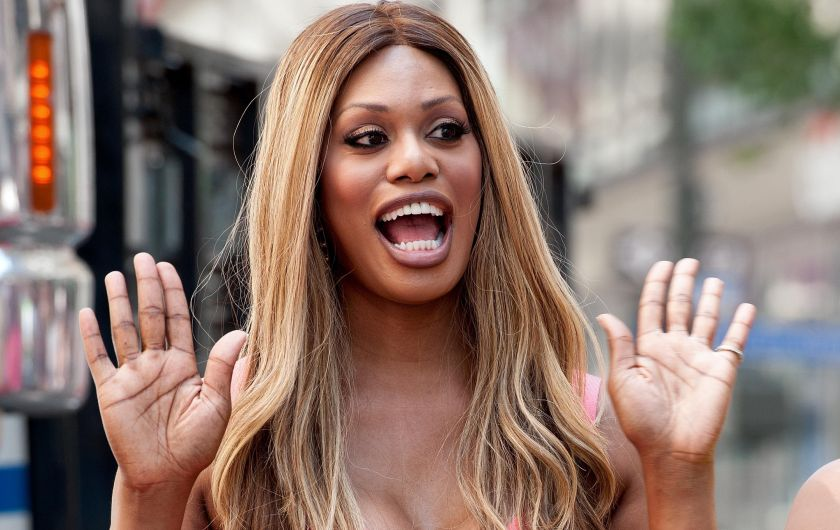 Laverne Cox, da premiada série 'Orange Is The New Black' em que interpreta a personagem transexual Sophia Burset, é talvez hoje a mais famosa atriz trans do mundo.
