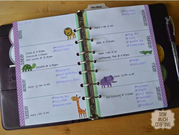Week on Two Pages {{Planner Organization}}