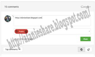 Aizzan Blog:  Memasang Komentar Google+ di Blog