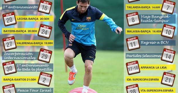 Fc Barcelona Schedule Usa Tour