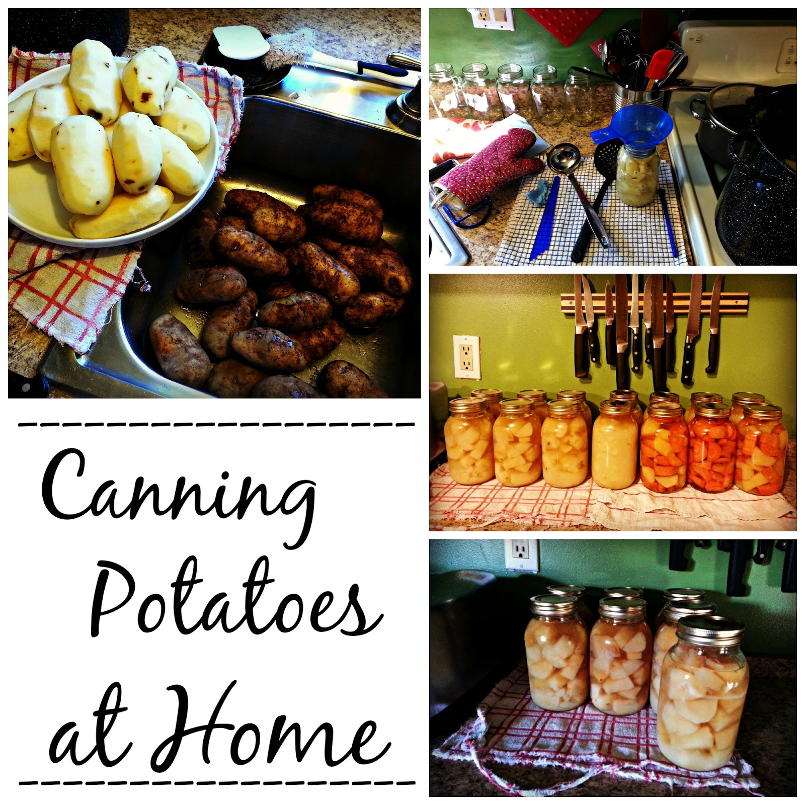 Can Potatoes at Home and Save $$$...