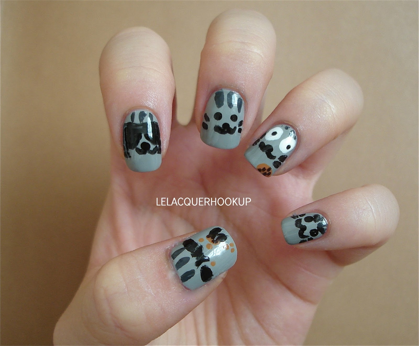 Le Lacquer Hook Up The Meme Week Nail Art Challenge Day 4 Cats