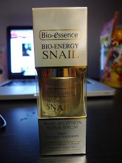 最新得獎:1)Bio-essence全新生物能量蝸牛原液修護精華, 2)Elizabeth Arden全新Visible Difference水顏保濕眼凝霜