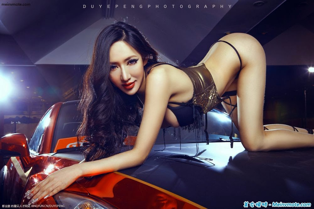 Cars seductive figure shows wild child