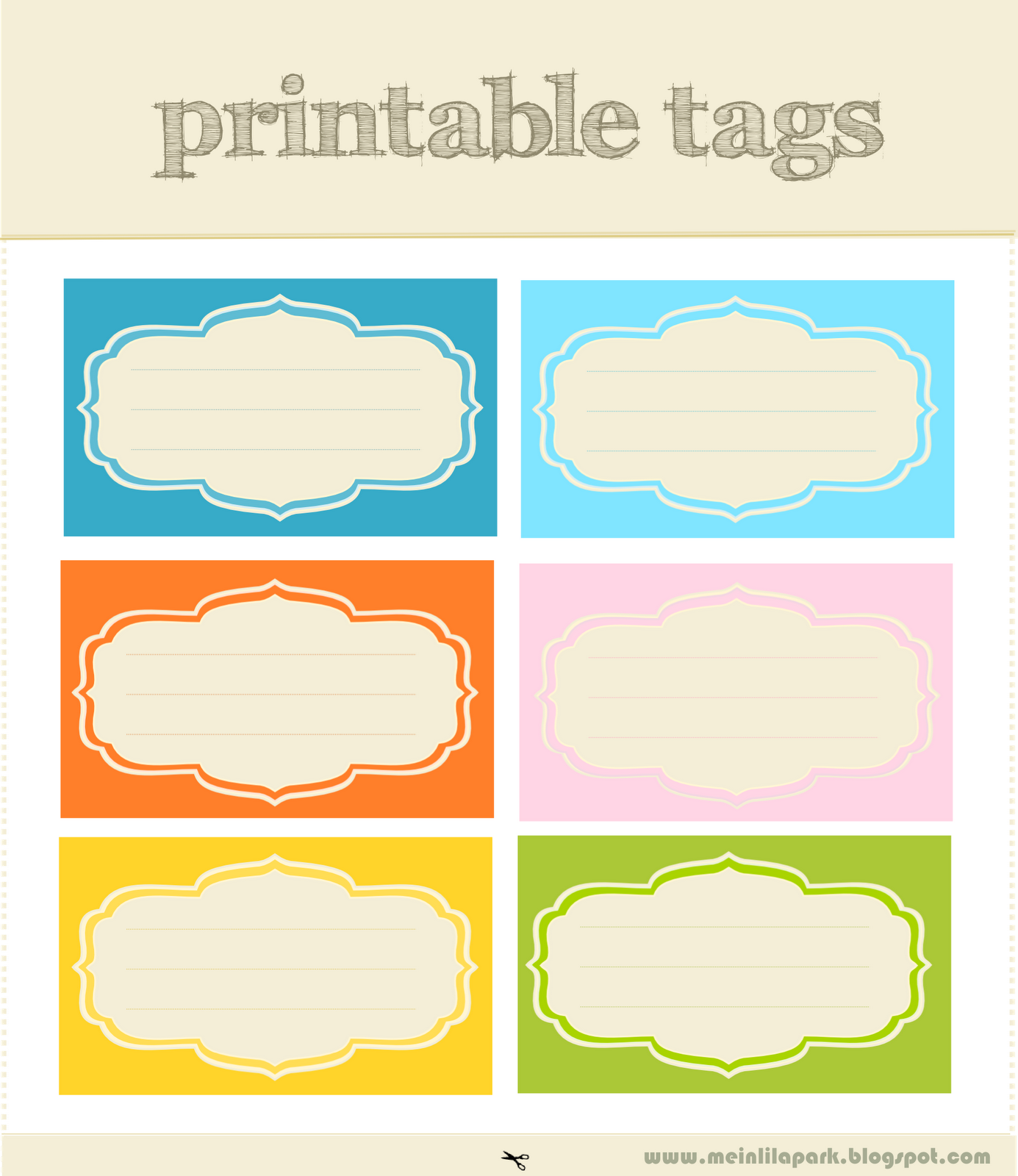 free printable scrapbooking tags AND digital journaling ...