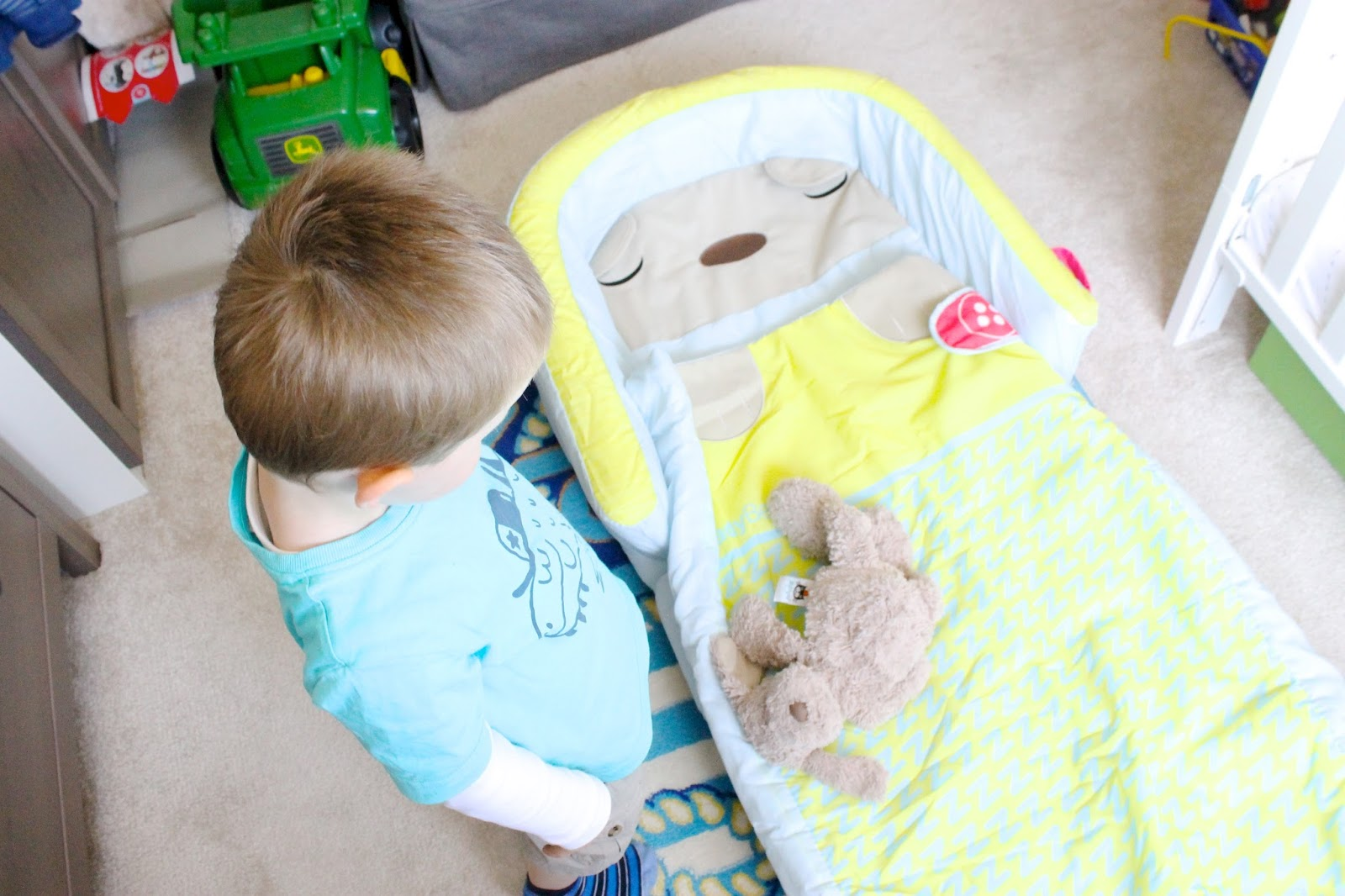 ReadyBed, Toddler blow up bed, Kids blow up bed, My First ReadyBed