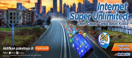 paket internet xl, internet super unlimited xl